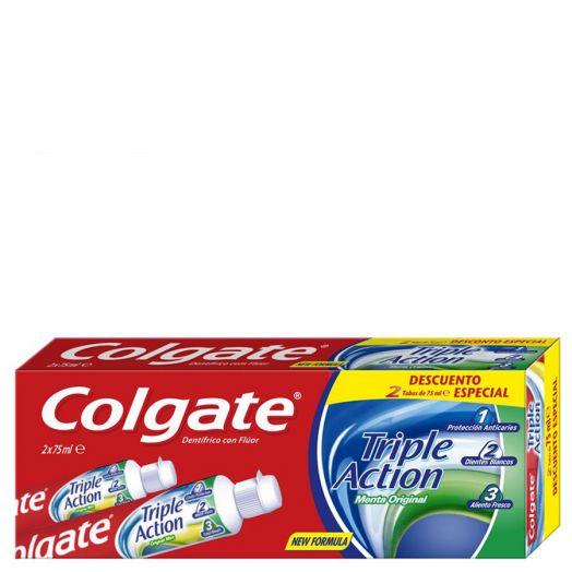 Colgate Duo Triple Acción Pasta Dentífrica 150 Ml
