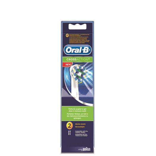 Oral-b Cross Action Recambio Cepillo Dental Eléctrico