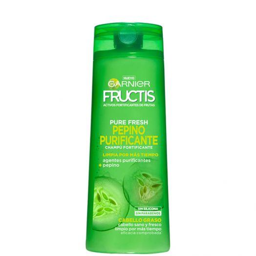 Garnier Fructis Pure Fresh Champú Purificante Pepino 360 Ml