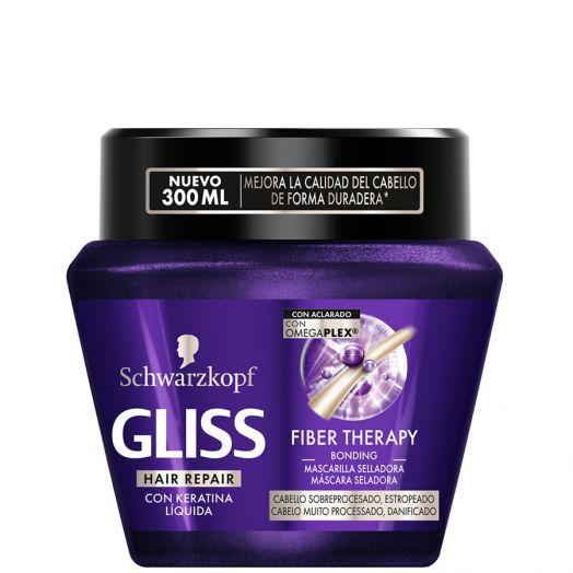 Schwarzkopf Gliss Fiber Therapy Mascarilla Reparadoda 200 Gr