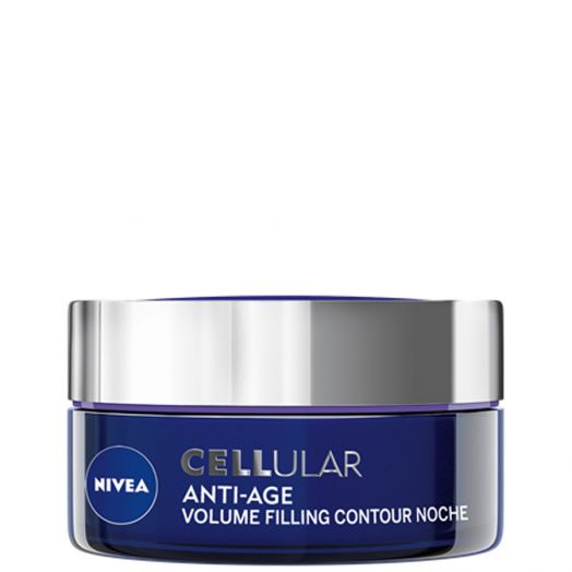 Nivea Cellular Anti-age Volume Filling Contour Cuidado De Noche 50 Ml