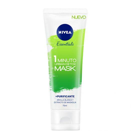 Nivea 1 Minuto Urban Skin Detox Mask Purificante 1 Min 75 Ml