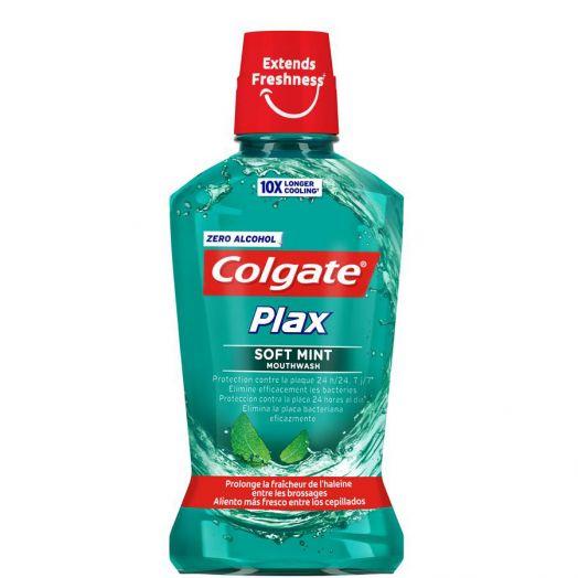 Colgate Plax Soft Mint Enjuague Bucal 250 Ml