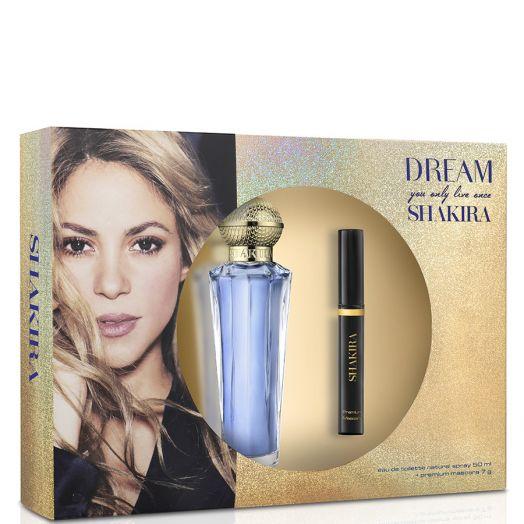 Shakira Dream Eau De Toilette Spray 50 Ml + Máscara