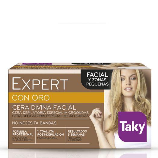 Taky Expert Con Oro Cera Divina Facial Y Pequeñas Zonas 100 Ml