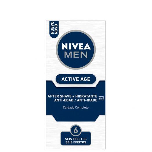 Nivea Doble Acción Active Age After Shave 75 Ml