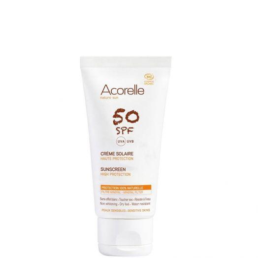 Acorelle Crema Solar Facial Spf50 50 Ml