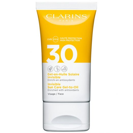 Clarins Gel-en-huile Solaire Invisible Gel-aceite Solar Invisible 50 Ml