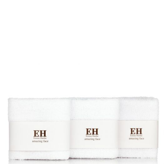 Emma Hardie Dual Action Professional Cleansing Cloths Pack Muselina Profesional