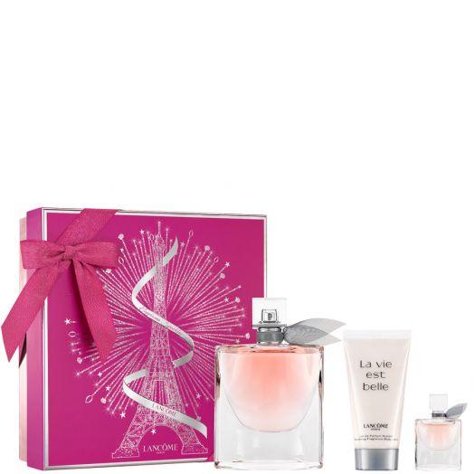 Lancôme La Vie Est Belle Eau De Parfum Spray 75 Ml + Body + Minitalla