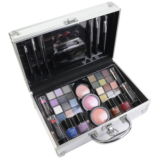 Markwins Maletin Maquillaje The Color Workshop Bon Voyage Silver