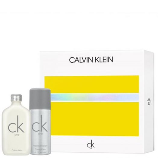 Calvin Klein Ck One Eau De Toilette Spray 100 Ml + Desodorante