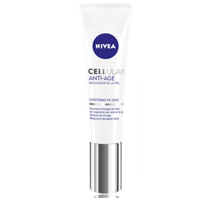 Nivea Visage Cellular Perfect Skin Crema Antiedad Contorno De Ojos 15 Ml